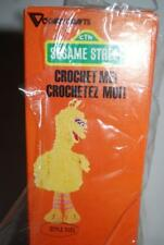 Vintage Sesame Street Crochet Me Kit Vogart Crafts Big Bird Stuffed Doll 1979