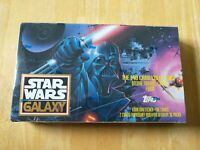1993 Topps Star Wars Galaxy Series 1 One Sealed Booster Box 36 Packs Vintage
