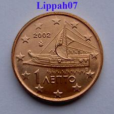 Griekenland / Greece 1 cent 2002 UNC