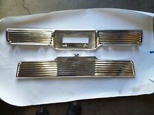 64 1964 Chevy Bel Air Biscayne Impala New Front & Rear License Plate Panels
