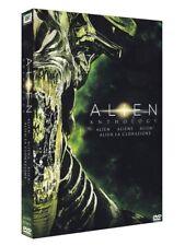 ALIEN QUADRILOGY (4 DVD)- ALIEN+ALIENS+ALIEN3+LACLONAZIONE - COF. ITA, NUOVO