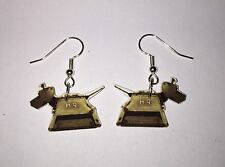 K-9 Earrings Dr Who k9 Charms