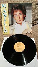 "BARRY MANILOW MANILOW LP VINYLE 12"" 1985 ESPAGNOL FIRST VG PRESSE/VG"