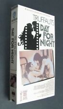Truffaut's Day For Night - English Language Version - VHS 1989