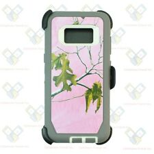 For Samsung Galaxy S6 S7 S8 S9 Plus Note 4/5/8 Case(Clip Fits OtterBox Defender)