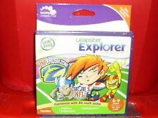 #0272 LEAPFROG LEAPSTER EXPLORER NFL RUSH ZONE 6-9 YRS 1-3RD GRADE NEW WITH TAGS