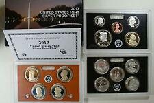 2013 S US Mint 90% Silver Proof Set (SV8) 14 coin set