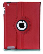 FUNDA GIRATORIA 360º TABLET APPLE IPAD 2 3 4 - ROJO