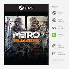 Metro Redux Paquete (Pc, Mac, Linux) - Llave de vapor [] global