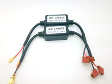 2x H3 LED Headlight Canbus Error Free Anti Flicker Capacitor Canceller Decoder