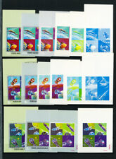 Yemen Stamps Early Mint NH Imperf Progress Proof Collection