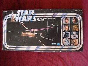 Original Kenner 1977 Star Wars Escape From Death Star Board Game ~ Complete