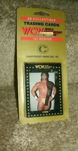 1991 WCW CHAMPIONSHIP MARKETING,INC 25 CARD BLISTER PACK UNOPENED TOM ZENK