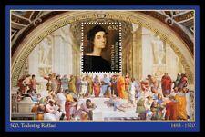 FR4155 - 2020 Liechtenstein 500° anniversario Raffaello foglietto