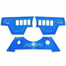 8 Switch Blue 3pc Dash Panel Polaris RZR XP1000 900S 2016 50 Caliber Racing UTV