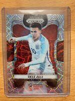 Dele Alli Panini Prizm World Cup 2018 Lazer Prizm Parallel rare card #66 England
