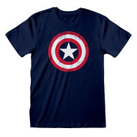 Official Captain America Shield T Shirt Marvel Avengers Falcon Winter Soldier