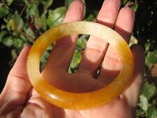 Natural Miel Amarillo Naranja Jade Ágata Cornalina Piedra Pulsera A54