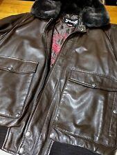 Schott NYC Rodeo TOP Gun Flight leather Jacket/ Antique sheepskins NEW Wi TAGS