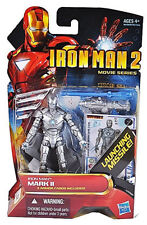 """IRON MAN 2 Movie Series_IRON MAN Mark II 3 ¾ """" figure with Launching Missile_MIP"""