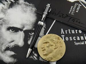 MONTBLANC Donation Pen Arturo Toscanini Ballpoint Pen (BP) 2007 + Commem. Medal