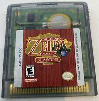 Legend of Zelda: Oracle of Seasons (Nintendo Game Boy Color, 2001) Cart Only