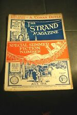 The Strand Magazine July 1918 Conan Doyle