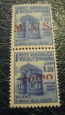 FRANCOBOLLO - POSTE REPUBBLICA SOCIALE ITALIANA M.A.S. di COMO  L.1,25  C8-194