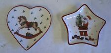 St Ann's Hospice Small Shaped Christmas Trinket/Sweet Dish - 2 Designs