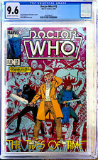DOCTOR WHO #15 in NM+ CGC 9.6 NM+ a 1985 MARVEL comic 1st Peter Davison cover