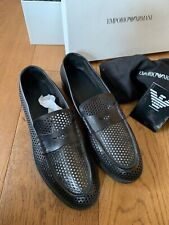 Mesh Armani Shoes - Mens - 11 (See Through Slippers) Used - X4A095/XC336
