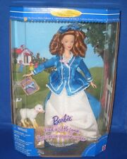 Barbie Collector Edition Barbie Had A Little Lamb Doll Nursery Collection, New