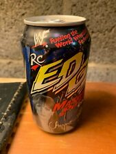 RC Cola Edge Soda Can Rare Bottom Opened (WWF/WWE Chyna) (Make an offer)