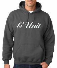 G-Unit Logo Hoodie Hip Hop Sweatshirt 50 Cent Eminem Shady Vintage Rap Sweater
