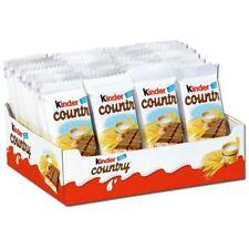 (9,81€/1kg) Ferrero Kinder Country, Riegel, Schokolade, 40 Riegel