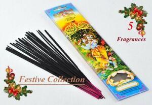 FESTIVE SPIRITUAL SKY INCENSE - 20 sticks per pack - 5 fragrances