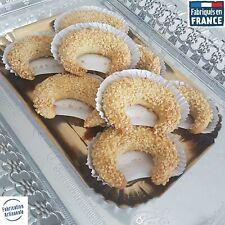 Pâtisserie ✪ 6 Cornes de gazelle✪ Gâteau idéal pour Thé Café Dolce Gusto Nescafé