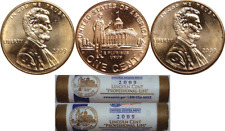 2009 P&D 1C Lincoln Penny Professional LP3 50 Coin Mint Rolls One Of Each