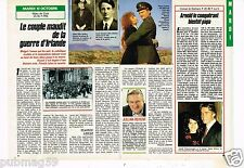Coupure de presse Clipping 1989 (1 page 1/2) Mary Cork et Lord Terence Swiney