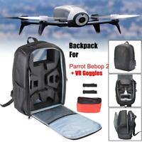 Imperméable Sac à dos de stockage de drone Noir pour Parrot Bebop 2 Power FPV