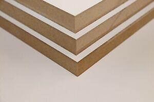 WE'RE OPEN - MDF Sheets - MDF Shelf - MDF Panel - 18mm White Melamine