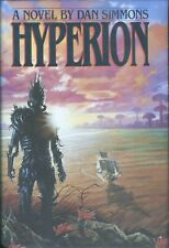 Dan Simmons    Hyperion Inscribed, signed and dated 1st Edition Hardcover