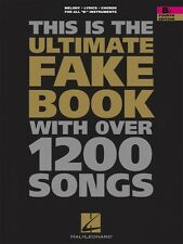 The Ultimate Fake Book Fourth Edition B-flat Edition Real Book Fake Bo 000240026