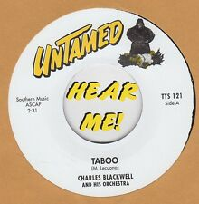R&B REPRO: CHARLES BLACKWELL-Taboo/UNKNOWN ARTIST-Taboo - UNTAMED-LOUNGE/EXOTICA