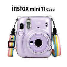 For Fujifilm Instax Mini 11 Instant Camera Shoulder Bag Cover Shell Case w/Strap