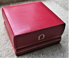 VINTAGE OMEGA WATCH CASE BOX FOR EARLY 1960'S SPEEDMASTER -- EX CLOSED RETAILER