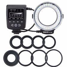 MEIKE LED Macro Ring Flash Light  FC-100 for Canon Nikon OM Pentax Camera