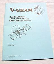 SET OF NASA JPL MAGELLAN VENUS RADAR MAPPING MISSION V-GRAMS ISSUED 1988-89
