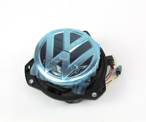 Genuine VW Golf MK7.5 e-Golf rear boot lid badge reversing camera 5G0827469N FOD