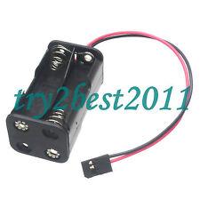 Receiver Battery Pack Case Box 4 x AA Nitro RC Futaba